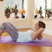 improved pilates-crunch